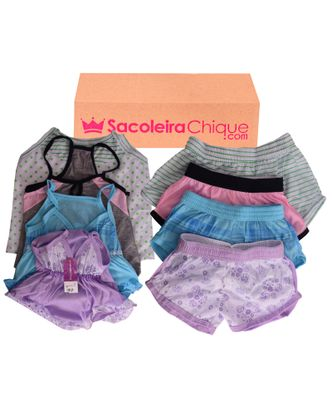 Kit-Short-Doll-Infantil-com-4-Unidades---1138